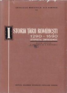 Istoria Tarii Rominesti (1290-1690)