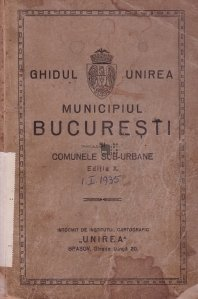 Municipiul Bucuresti si comunele sub-urbane