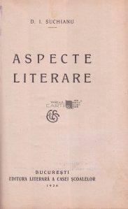 Aspecte literare
