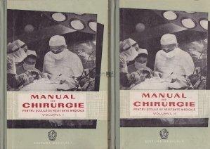Manual de chirurgie pentru scolile de asistente medicale