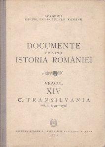 Documente privind istoria Romaniei
