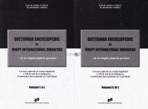 Dictionar enciclopedic de drept international umanitar
