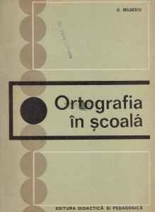 Ortografia in scoala