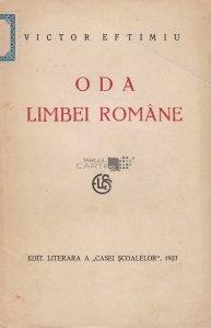 Oda limbei romane