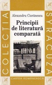 Principii de literatura comparata