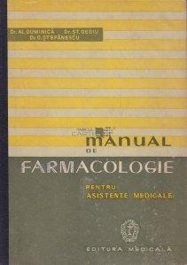 Manual de farmacologie pentru asistente medicale