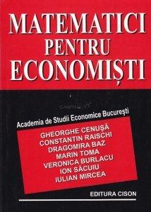 Matematici pentru economisti