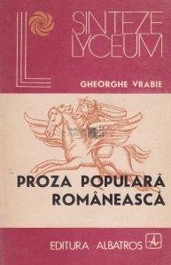 Proza populara romaneasca