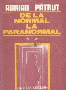 De la normal la paranormal