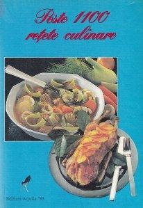 Peste 1100 retete culinare
