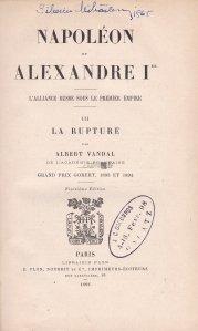 Napoleon et Alexandre Ier / Napoleon si Alexandru I