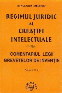 Regimul juridic al creatiei intelectuale