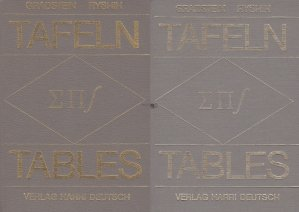 Tafeln /Tables / Tabele