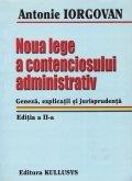 Noua lege a contenciosului administrativ