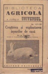 Cresterea si exploatarea iepurilor de casa