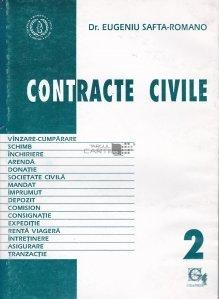 Contracte civile