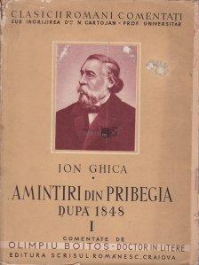Amintiri din pribegia dupa 1848