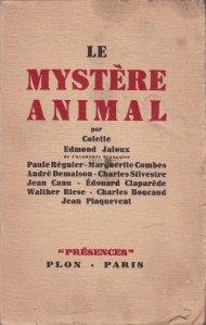 Le mystere animal