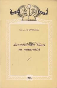 Leonardo da Vinci ca naturalist