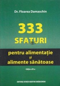333 de sfaturi pentru alimentatie si alimente sanatoase