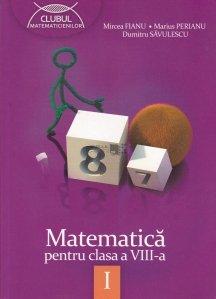 Matematica pentru clasa a VIII-a