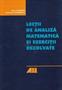 Lectii de analiza matematica si exercitii rezolvate