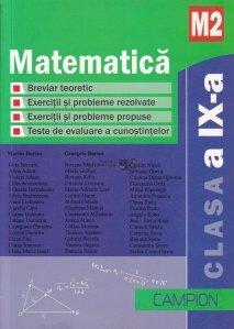 Matematica M2, clasa a IX-a