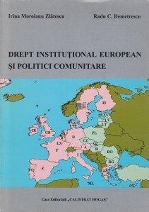 Drept institutional european si politici comunitare