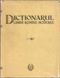 Dictionarul limbii romine moderne
