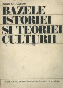 Bazele istoriei si teoriei culturii