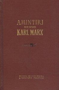 Amintiri despre Karl Marx