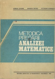 Metodica predarii analizei matematice