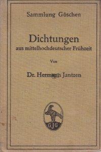 Dichtungen aus mittelhochdeutscher Fruhzeit / Sigilii din perioada de inceput a evului mediu german