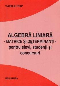 Algebra liniara. Matrice si determinanti