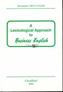 A lexicological approach to business english