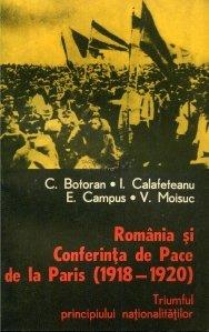 Romania si Conferinta de Pace de la Paris (1918-1920)