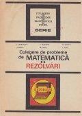 Culegere de probleme de matematica