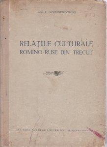 Relatiile culturale romino-ruse din trecut