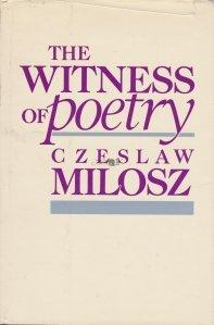 The witness of poetry / Martorul poeziei