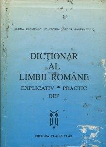 Dictionar al limbii romane