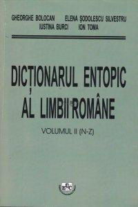Dictionarul entopic al limbii romane