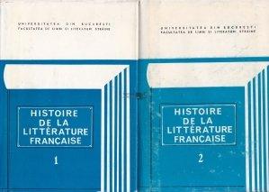 Histoire de la litterature francaise / Istoria literaturii franceze