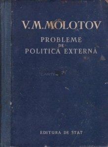 Probleme de politica externa