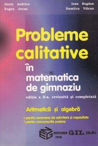 Probleme calitative in matematica de gimnaziu