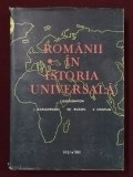 Romanii in istoria universala