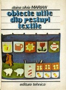 Obiecte utile din resturi textile