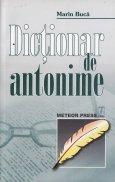 Dictionar de antonime al limbii romane