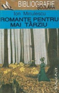 Romante pentru mai tarziu