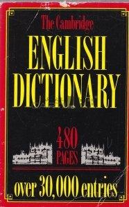 The Cambridge English Dictionary