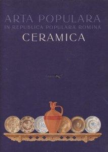 Arta populara in Republica Populara Romana - Ceramica